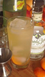 Gin Mickey vert