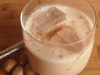 Bourbon Milk Punch