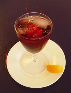 Vermouth Cassis vert