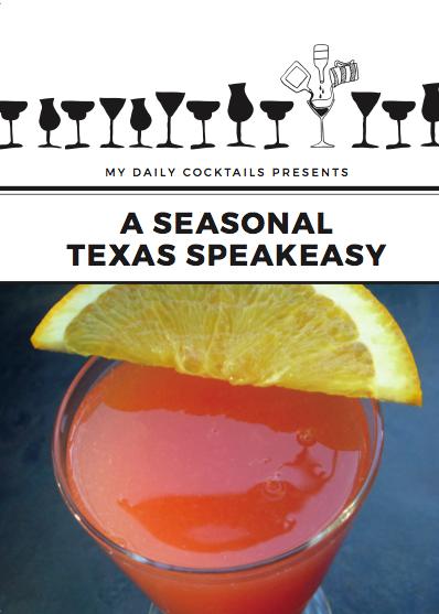 A Seasonal Texas Speakeasy